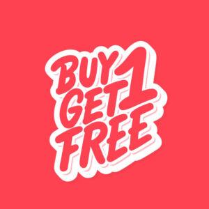 Buy 1 Get Free